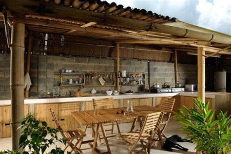 desain cafe bambu mengolah material bambu sebelum digunakan pt