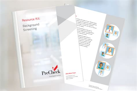 Background Screening Resources Library Precheck