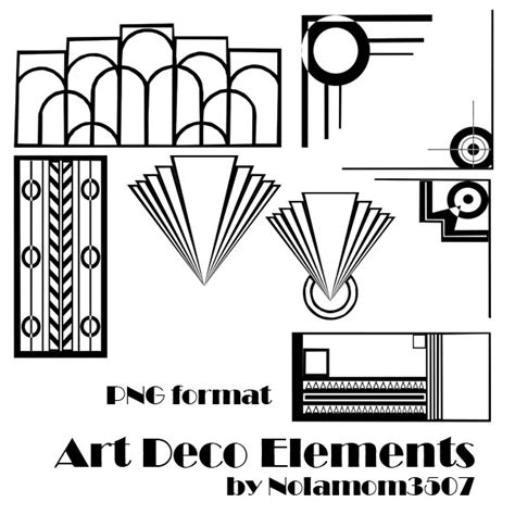 design elements of art deco art deco elements by nolamom3507 on deviantart