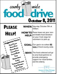 Ads holiday food drive fundraiser flyer ad templates xx0850701d aspx