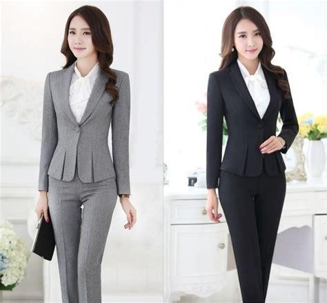vestimenta formal mujer trajes pantal 243 n formales para mujeres trajes de negocios