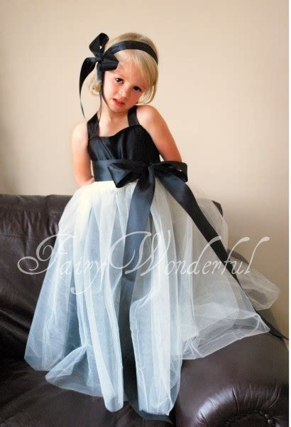 Dress Sabrina Flower Black 081514 flower tutu slip dress weddingbee photo gallery
