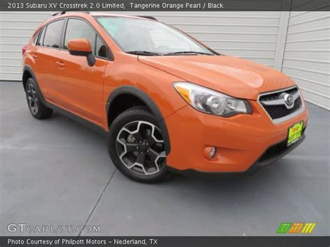 subaru orange crosstrek tangerine orange pearl 2013 subaru crosstrek 2 0