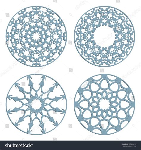 pattern cutter en francais diy laser cutting patterns islamic die stock vector