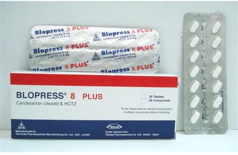 Blopress 8mg by Blopress Plus 8 Mg 12 5 Mg 28 Tab Price From Seif In