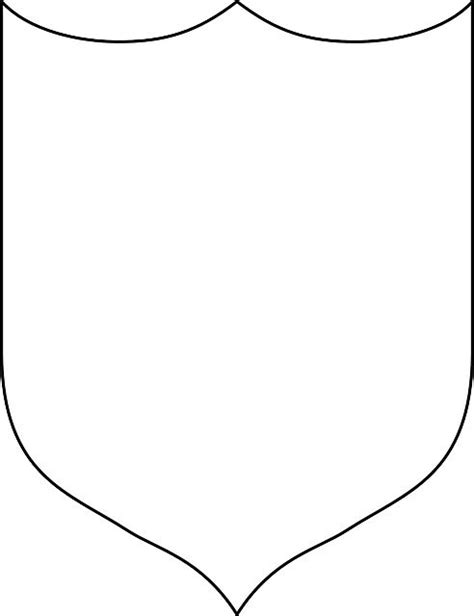 shield template to print easy knights costume no sew shield and