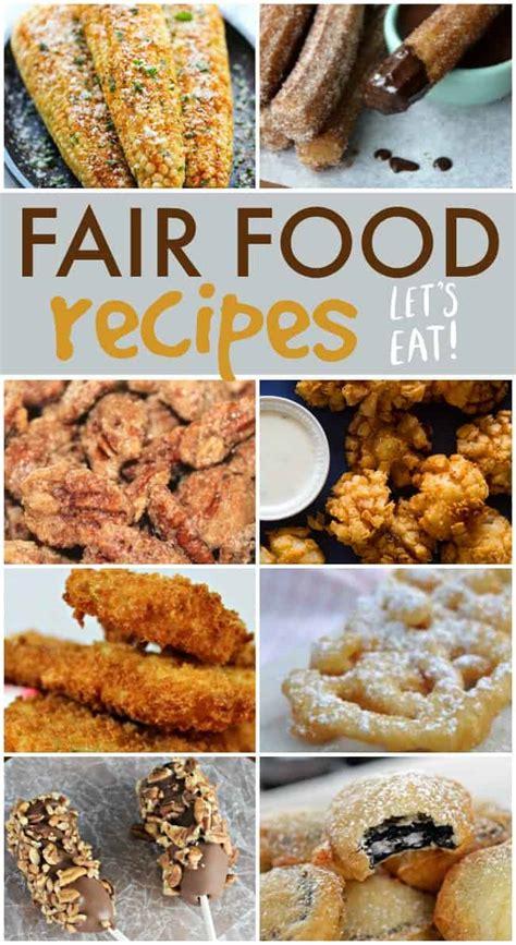 how to make homemade fair food recipes