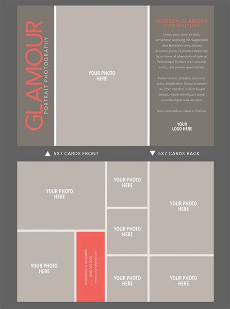 5x7 card template landscape 5x7 doublesided card template for by
