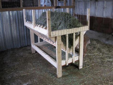 How To Make A Hay Rack by Hay Net Or Hay Rack Or Something Else Backyardherds