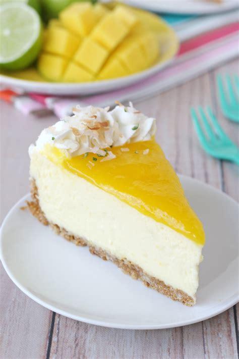 Mango Cheesecake mango recipes the idea room