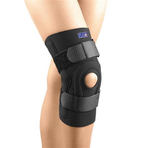 fla orthopedics safe t sport neoprene hinged stabilizing