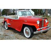 1949 Willys Overland Jeepster Convertible  Aucton Results