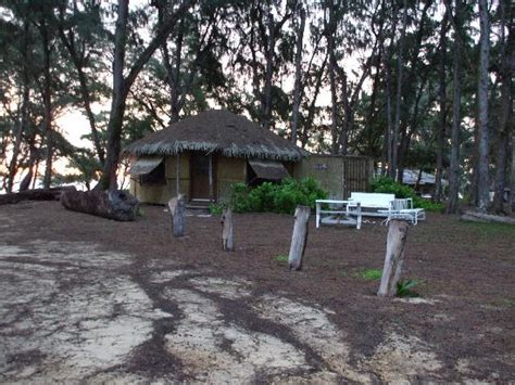 malaekahana beach house our grass hut picture of malaekahana beach cground laie tripadvisor