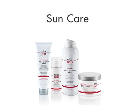 Sun Care eltamd 174 dermatologist sunscreens and skin care products
