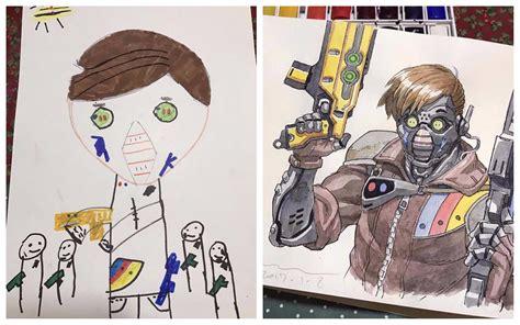 imagenes re geniales pap 225 convierte los dibujos de sus hijos en geniales c 243 mics
