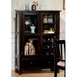 Corner Curio Cabinet With Wine Rack Coaster Curio China Cabinet With Wine Rack Rich Cappuccino