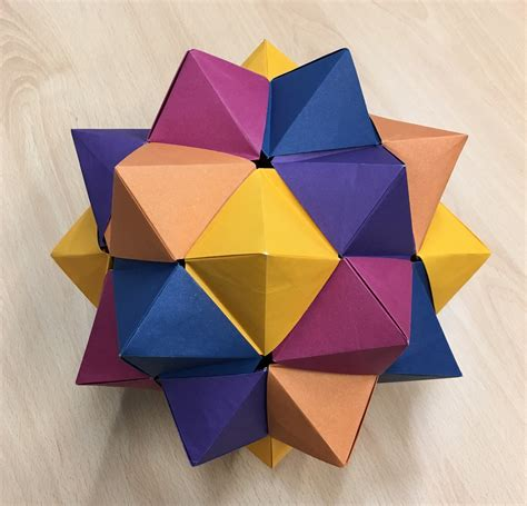 Modular Origami 12 Units - modular origami 12 units gallery craft decoration ideas