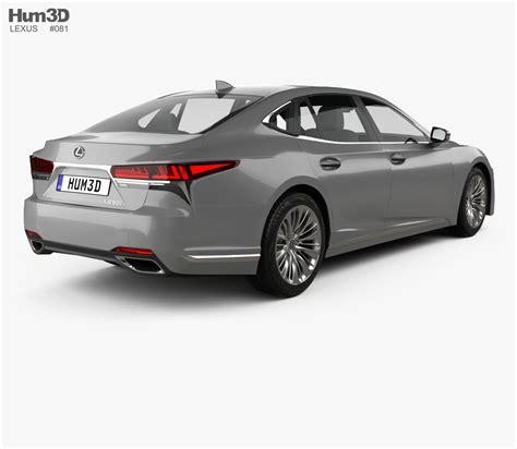 lexus models lexus ls 2017 3d model hum3d