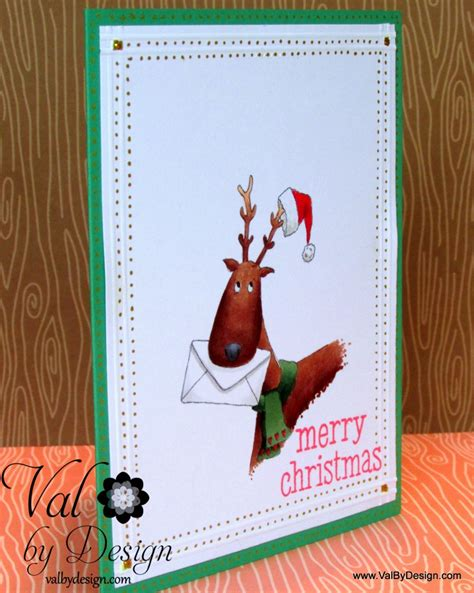 Handmade Merry Cards - merry card with handmade harbour valbydesign