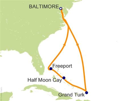 cruises leaving from baltimore 7 night eastern caribbean cruise on carnival pride from