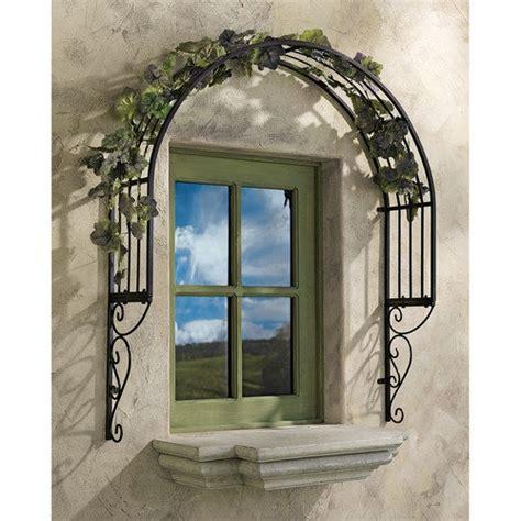 design toscano thornbury ornamental garden window trellis - Window Trellis Design