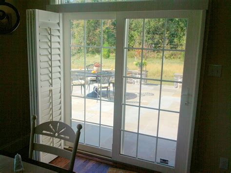 Plantation Shutters For Sliding Glass Doors Plantation Shutters For Sliding Doors