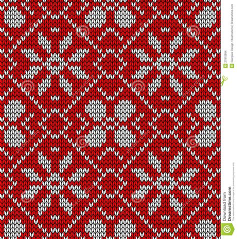 vintage holiday pattern vintage christmas knitted pattern stock images image