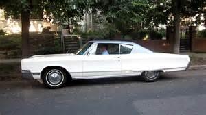 1967 Chrysler Newport In Motion On Neighborhood 1967 Chrysler