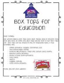 Parent Letter Box Tops 17 Best Images About Box Tops Collection Sheets On Parent Newsletter Apple Boxes