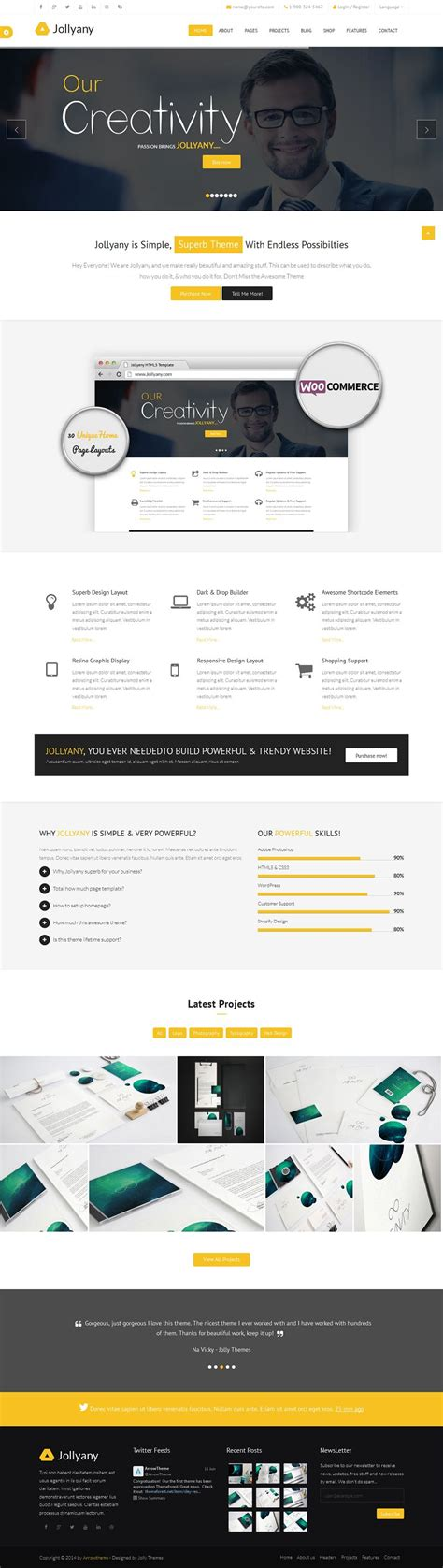 drupal theme omega demo jollyany responsive multi purpose drupal corporate theme