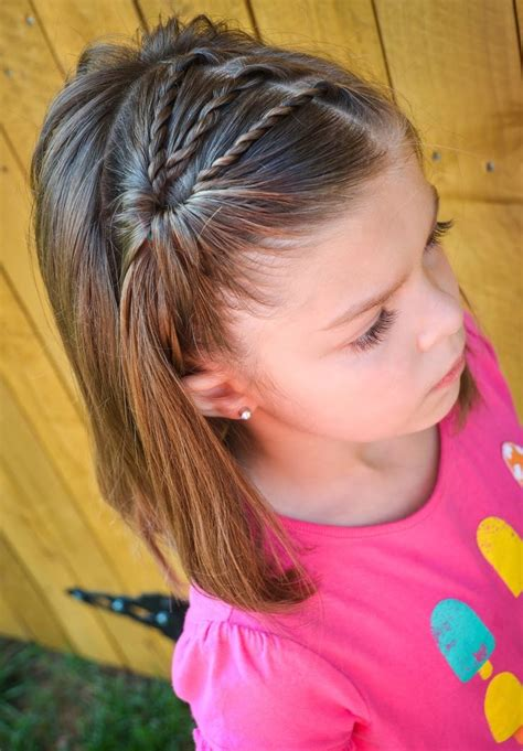 little girl hairstyles braided to the side 20 easy and cute hairstyles for little girls