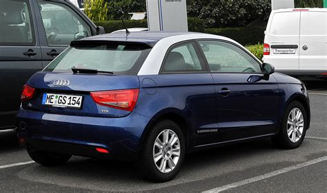 Audi A1 Attraction by File Audi A1 1 6 Tdi Attraction Heckansicht 4