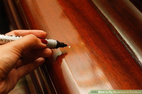 How to Fix Scratches in Furniture: 8 Steps (with Pictures)