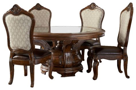 Jessica Mcclintock Dining Room Furniture by Tuscano Melange 6 Piece Round Dining Table Set Victorian