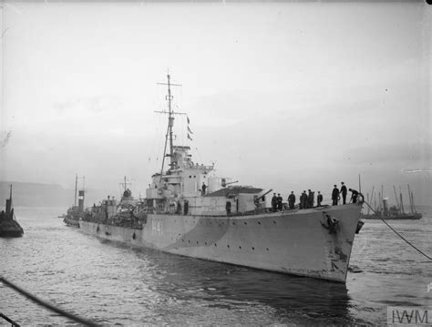 Greenock Records Hms Redoubt 14 December 1942 Greenock A 13577