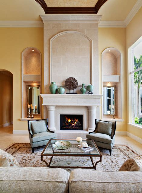 home design living room fireplace 16 gorgeous living room design ideas in mediterranean