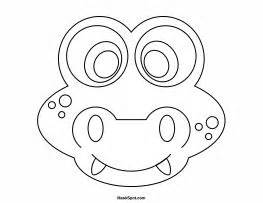 printable crocodile mask printable alligator mask to color kids club pinterest