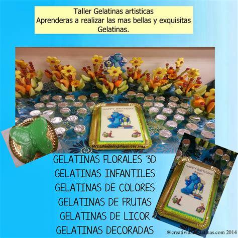 moldes para gelatinas en el df creatividades latinas taller gelatinas artisticas