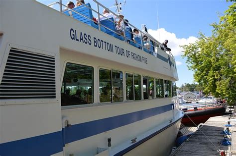 glass bottom boat cruise glass bottom boat tour picture of blue heron cruises