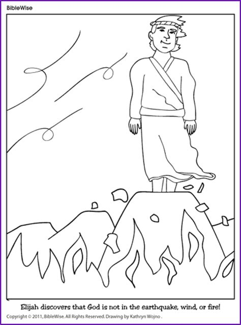 printable coloring pages elijah free elijah and elisha coloring pages