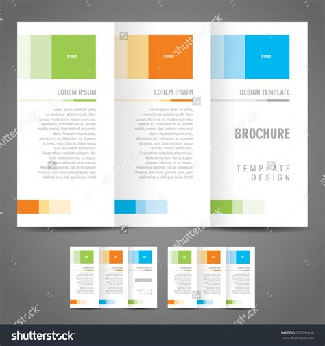 single page brochure templates one page brochure template 3 best agenda templates