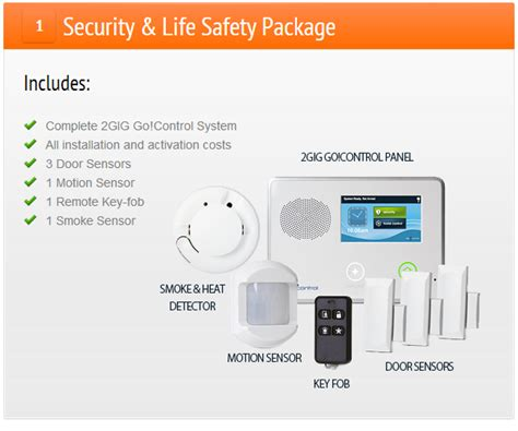 residential home security packages advanced security
