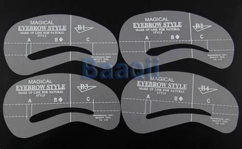 printable eyebrow stencils actual size printable eyebrow stencils actual size www pixshark com