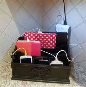 diy electronic charging station 25 best ideas about charging station organizer on
