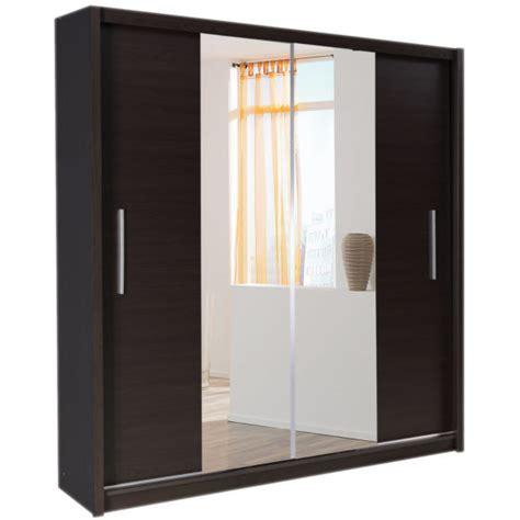 Bedroom Bedroom With Large Mirrored Sliding Wardrobe Door Bedroom Cabinet Doors