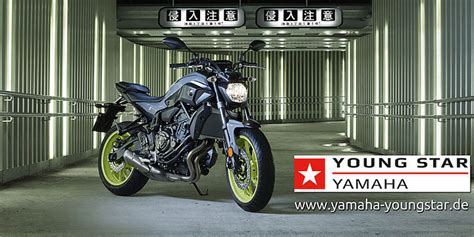 Yamaha Motorrad Promotion by Mt 07 Young Star Promotion