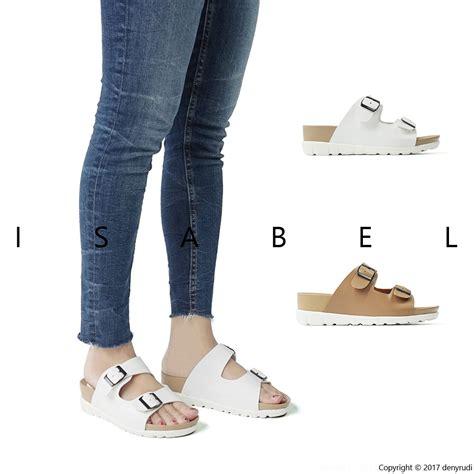 Sepatu Fila Putih Shopee dakota sandal sendal wanita murah platform coklat