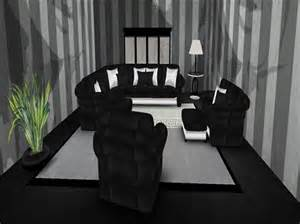 black and silver living room second marketplace special sale price black