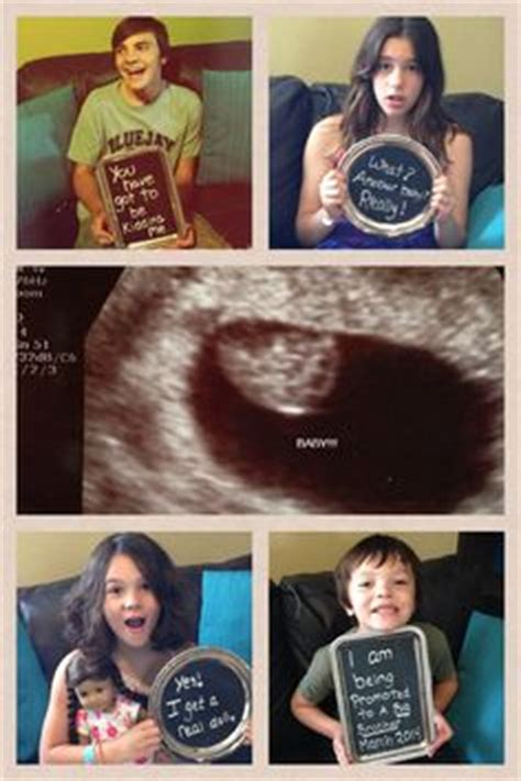 baby number 5 announcement! so funny and cute! | love