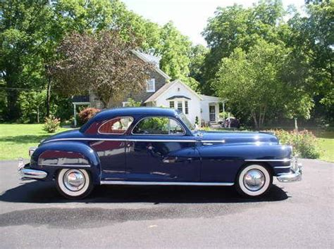 1947 Chrysler New Yorker by Purchase Used 1947 Chrysler New Yorker 2dr Club Coupe No
